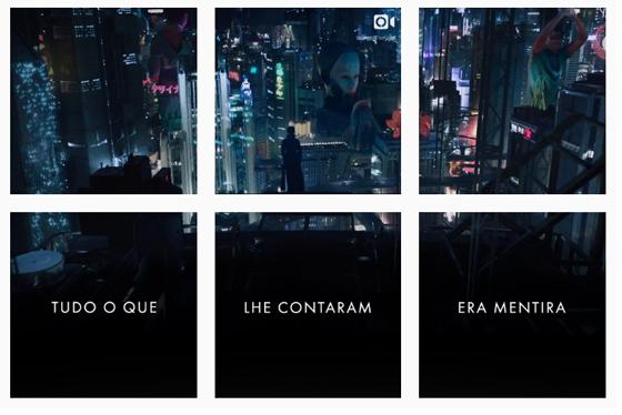 """""""A Vigilante do Amanhã: Ghost in the Shell"""" ganha Instagram em mosaico O Gabriel Lucas - #OGL"""