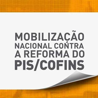 Selo Mobilização Contra Reforma do PISCOFINS
